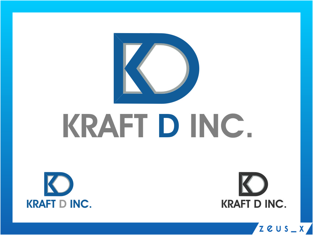 Logo Design by RasYa Muhammad Athaya - Entry No. 484 in the Logo Design Contest Unique Logo Design Wanted for Kraft D Inc.