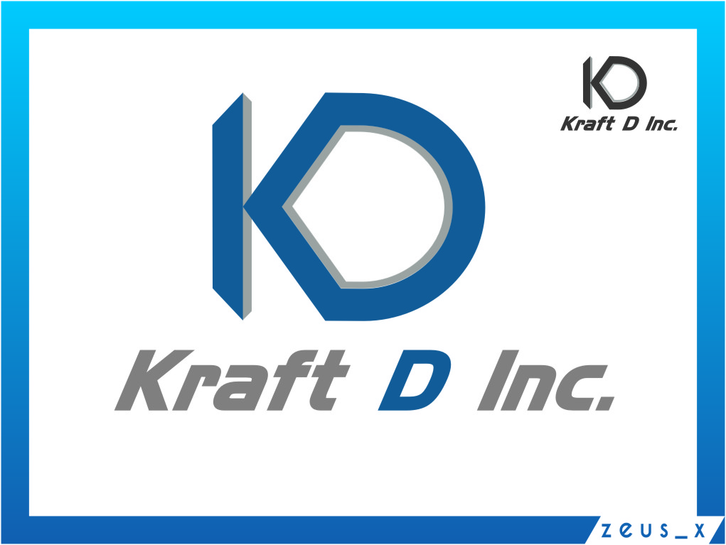 Logo Design by Ngepet_art - Entry No. 485 in the Logo Design Contest Unique Logo Design Wanted for Kraft D Inc.