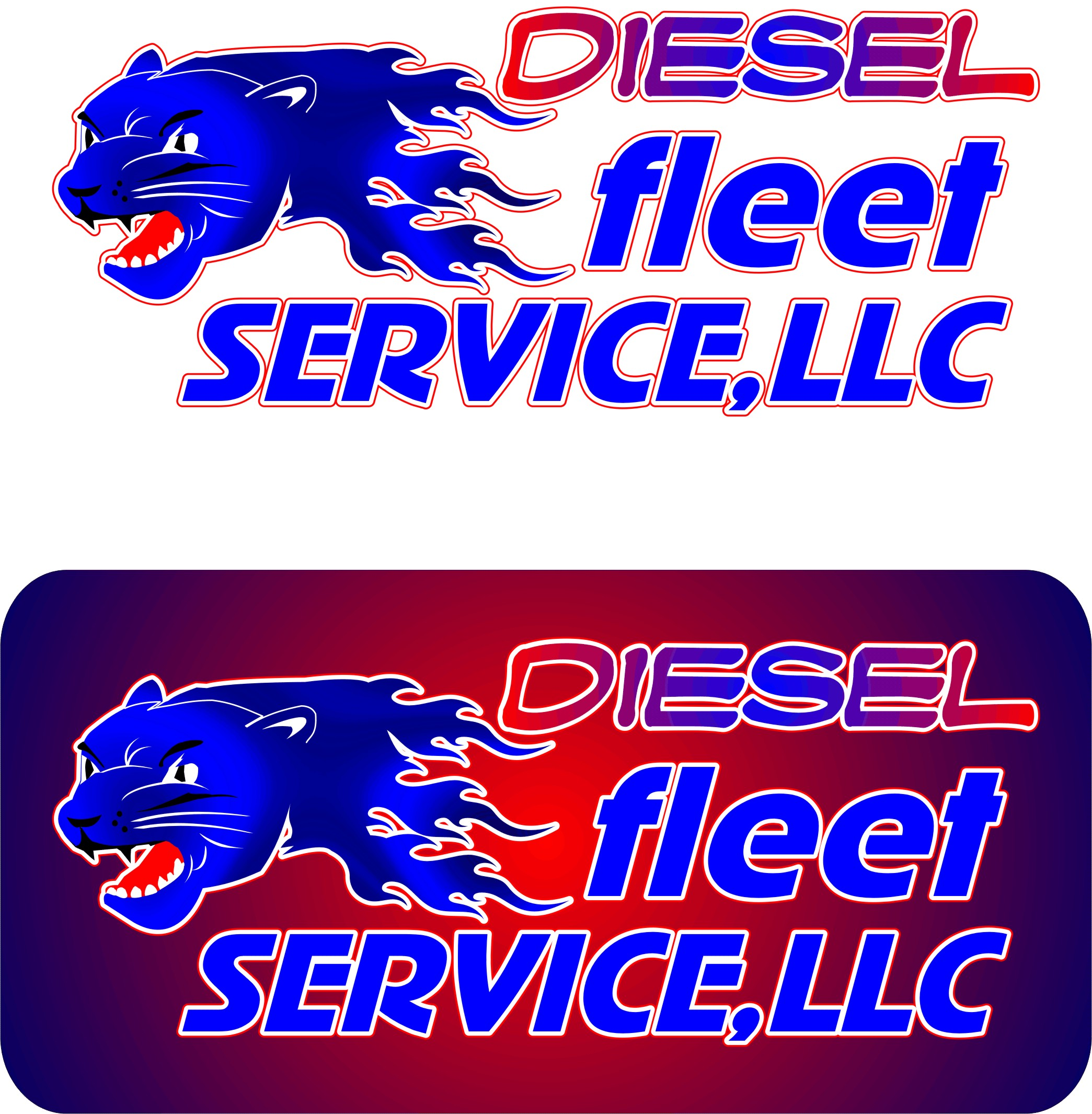 Logo Design by Korsunov Oleg - Entry No. 6 in the Logo Design Contest Artistic Logo Design for Diesel Fleet Service, LLC.