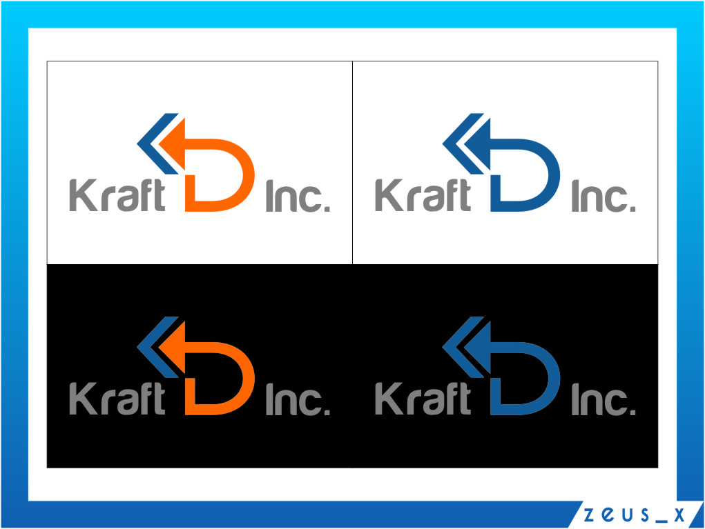 Logo Design by RoSyid Rono-Rene On Java - Entry No. 486 in the Logo Design Contest Unique Logo Design Wanted for Kraft D Inc.