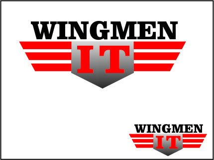 Logo Design by Agus Martoyo - Entry No. 54 in the Logo Design Contest New Logo Design for IT Wingmen.