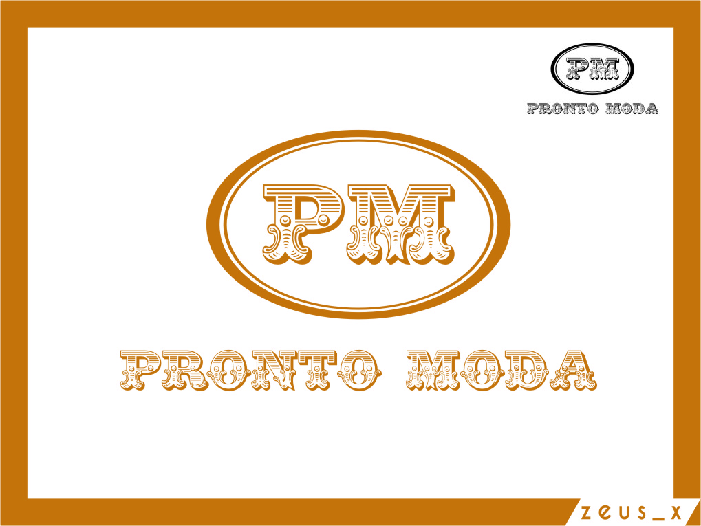 Logo Design by RasYa Muhammad Athaya - Entry No. 61 in the Logo Design Contest Captivating Logo Design for Pronto moda.