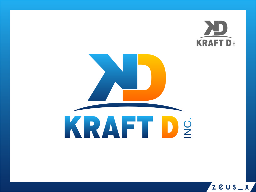 Logo Design by RasYa Muhammad Athaya - Entry No. 489 in the Logo Design Contest Unique Logo Design Wanted for Kraft D Inc.