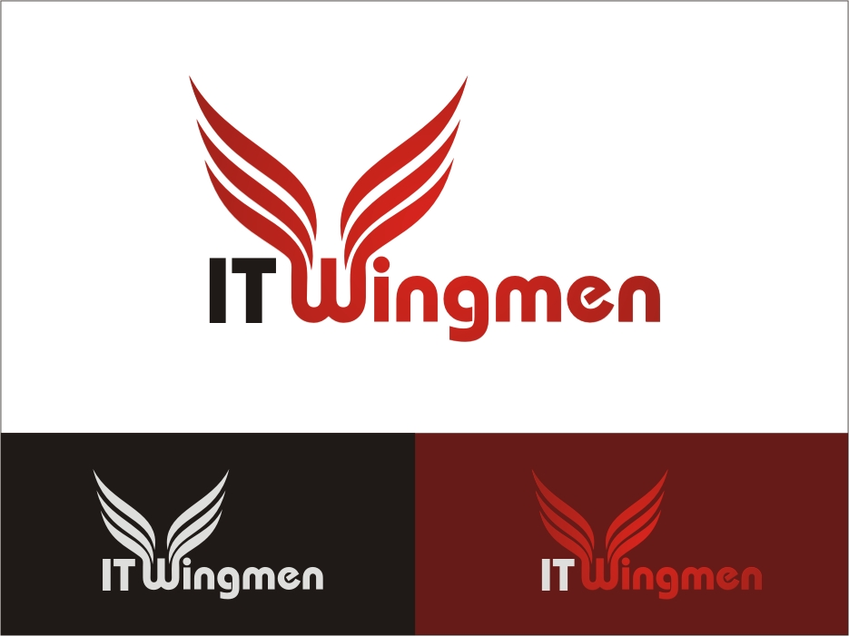 Logo Design by RED HORSE design studio - Entry No. 55 in the Logo Design Contest New Logo Design for IT Wingmen.