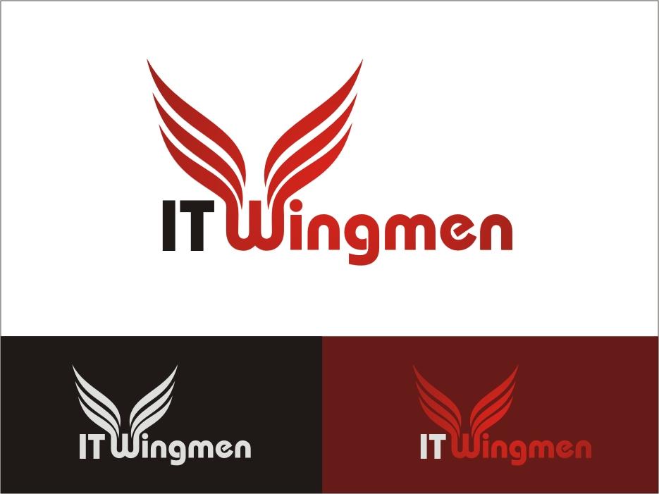 Logo Design by RED HORSE design studio - Entry No. 55 in the Logo Design Contest New Logo Design for IT Wingmen.
