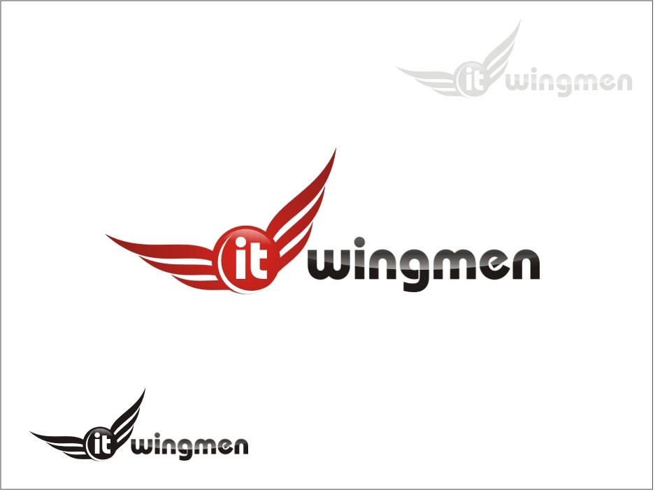 Logo Design by RED HORSE design studio - Entry No. 59 in the Logo Design Contest New Logo Design for IT Wingmen.