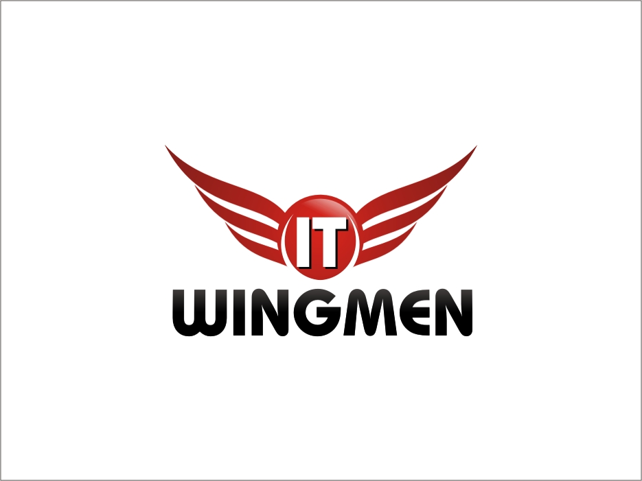 Logo Design by RED HORSE design studio - Entry No. 62 in the Logo Design Contest New Logo Design for IT Wingmen.