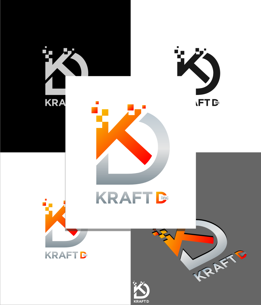 Logo Design by graphicleaf - Entry No. 493 in the Logo Design Contest Unique Logo Design Wanted for Kraft D Inc.