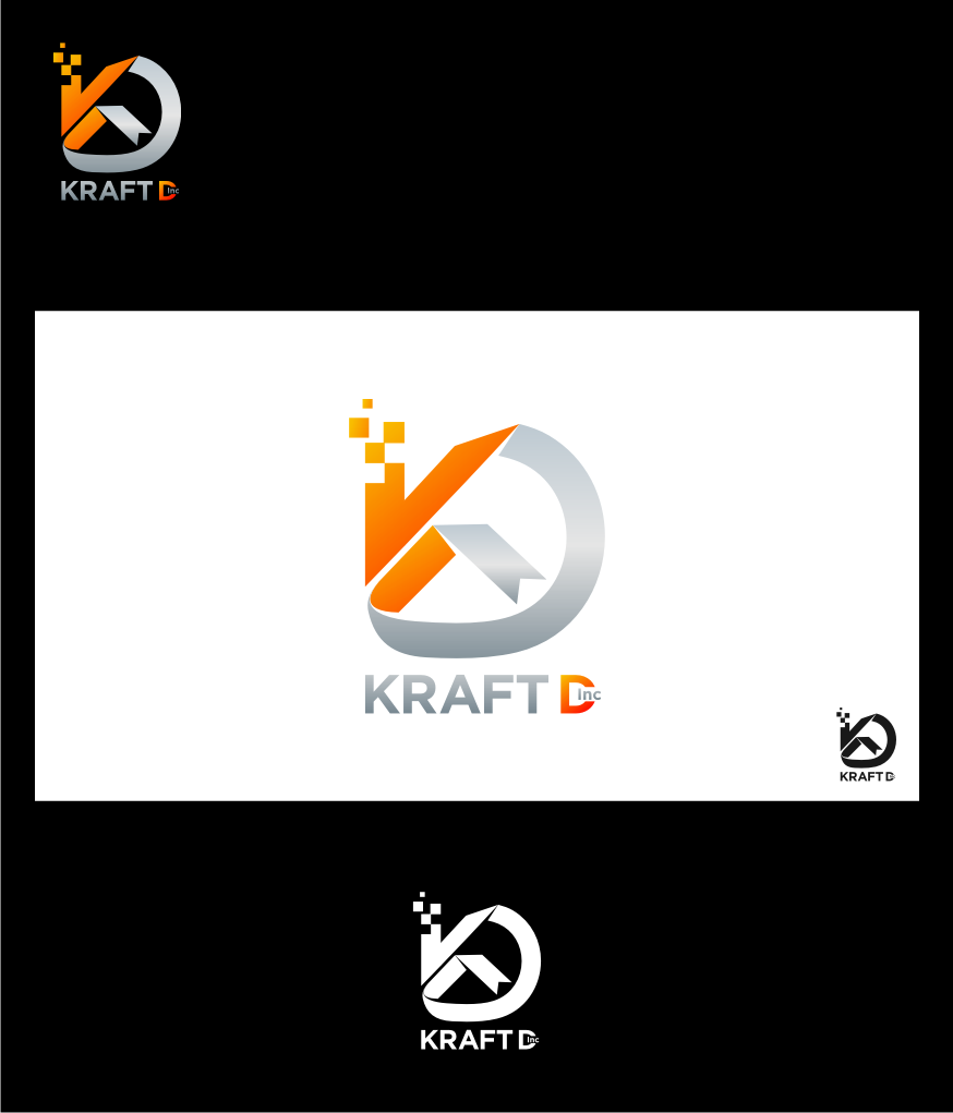 Logo Design by graphicleaf - Entry No. 494 in the Logo Design Contest Unique Logo Design Wanted for Kraft D Inc.