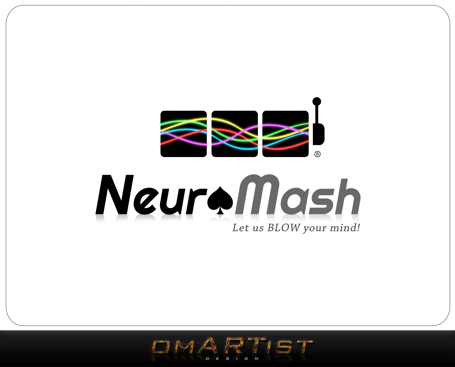 Logo Design by omARTist - Entry No. 40 in the Logo Design Contest Unique Logo Design Wanted for NeuroMash.