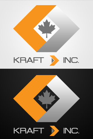 Logo Design by Private User - Entry No. 495 in the Logo Design Contest Unique Logo Design Wanted for Kraft D Inc.
