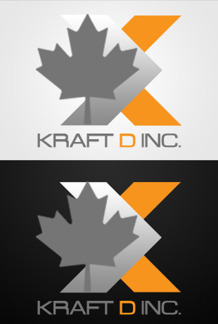 Logo Design by Private User - Entry No. 496 in the Logo Design Contest Unique Logo Design Wanted for Kraft D Inc.