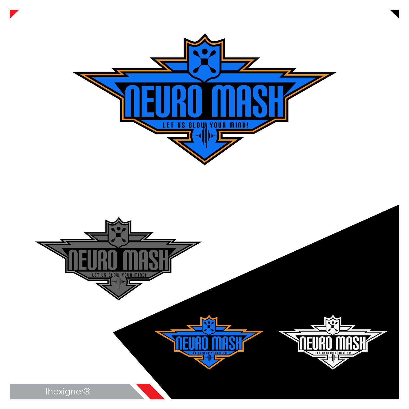 Logo Design by lagalag - Entry No. 41 in the Logo Design Contest Unique Logo Design Wanted for NeuroMash.