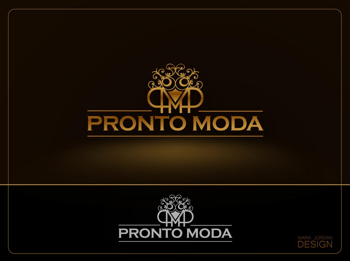 Logo Design by Mark Anthony Moreto Jordan - Entry No. 66 in the Logo Design Contest Captivating Logo Design for Pronto moda.
