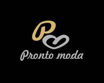 Logo Design by Rudy - Entry No. 69 in the Logo Design Contest Captivating Logo Design for Pronto moda.