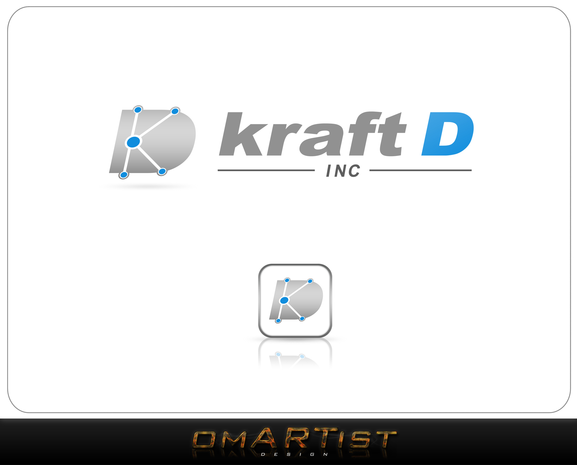 Logo Design by omARTist - Entry No. 502 in the Logo Design Contest Unique Logo Design Wanted for Kraft D Inc.
