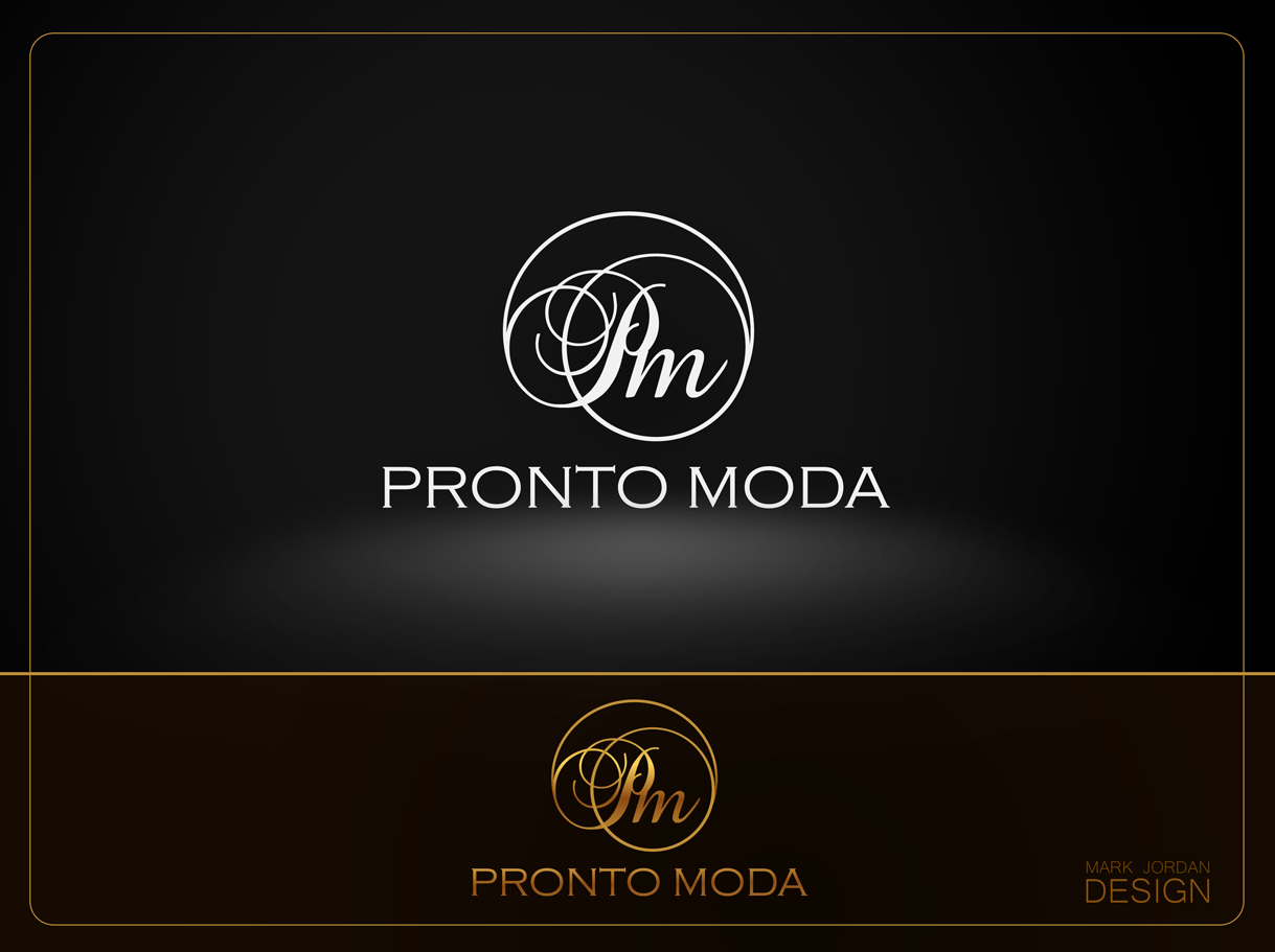 Logo Design by Mark Anthony Moreto Jordan - Entry No. 71 in the Logo Design Contest Captivating Logo Design for Pronto moda.