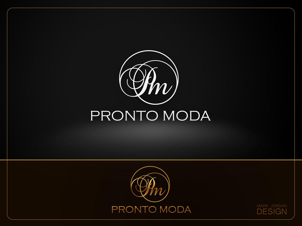 Logo Design by Mark Anthony Moreto Jordan - Entry No. 71 in the Logo Design Contest Captivating Logo Design for Pronto moda.