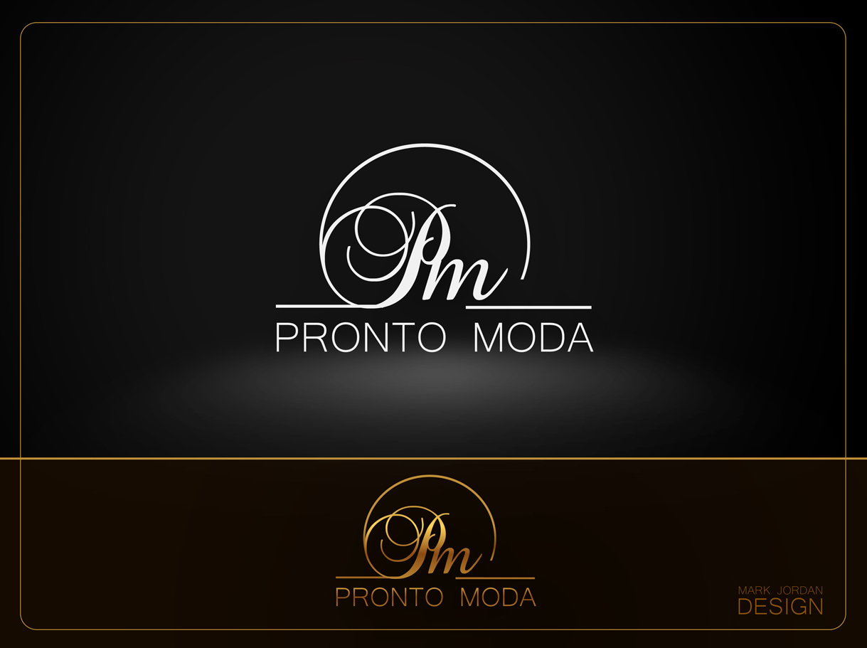 Logo Design by Mark Anthony Moreto Jordan - Entry No. 72 in the Logo Design Contest Captivating Logo Design for Pronto moda.