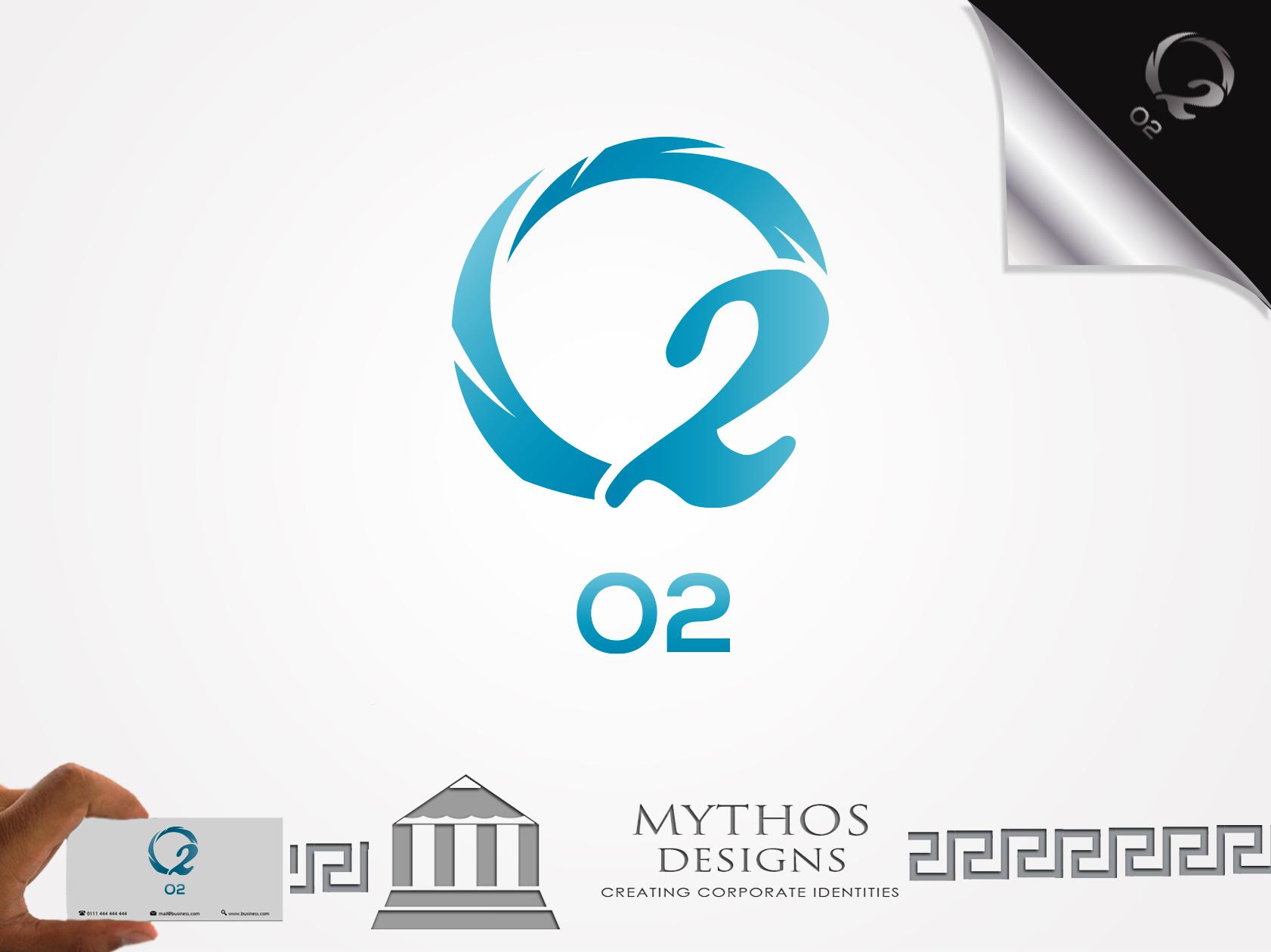 Logo Design by Mythos Designs - Entry No. 108 in the Logo Design Contest Artistic Logo Design for O2.