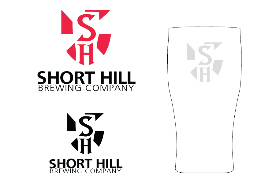 Logo Design by Christina Evans - Entry No. 84 in the Logo Design Contest Unique Logo Design Wanted for Short Hill Brewing Company.