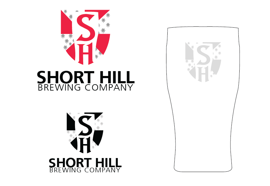 Logo Design by Christina Evans - Entry No. 85 in the Logo Design Contest Unique Logo Design Wanted for Short Hill Brewing Company.