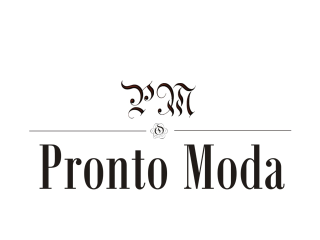Logo Design by Q_Division_Designs - Entry No. 75 in the Logo Design Contest Captivating Logo Design for Pronto moda.