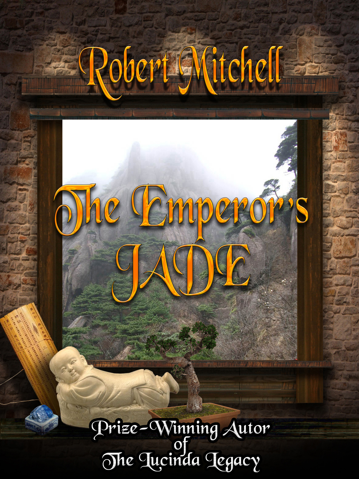 Book Cover Design by MITUCA ANDREI - Entry No. 51 in the Book Cover Design Contest Book Cover Design for The Emperor's Jade.