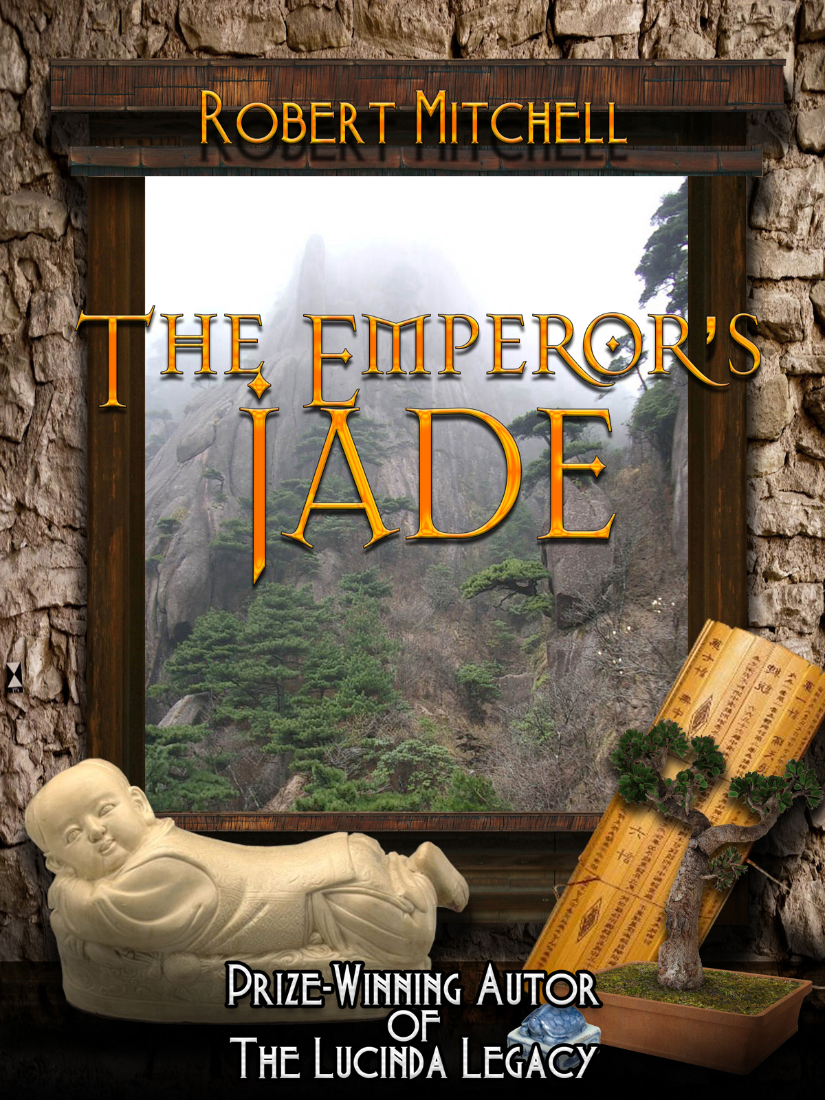 Book Cover Design by MITUCA ANDREI - Entry No. 52 in the Book Cover Design Contest Book Cover Design for The Emperor's Jade.