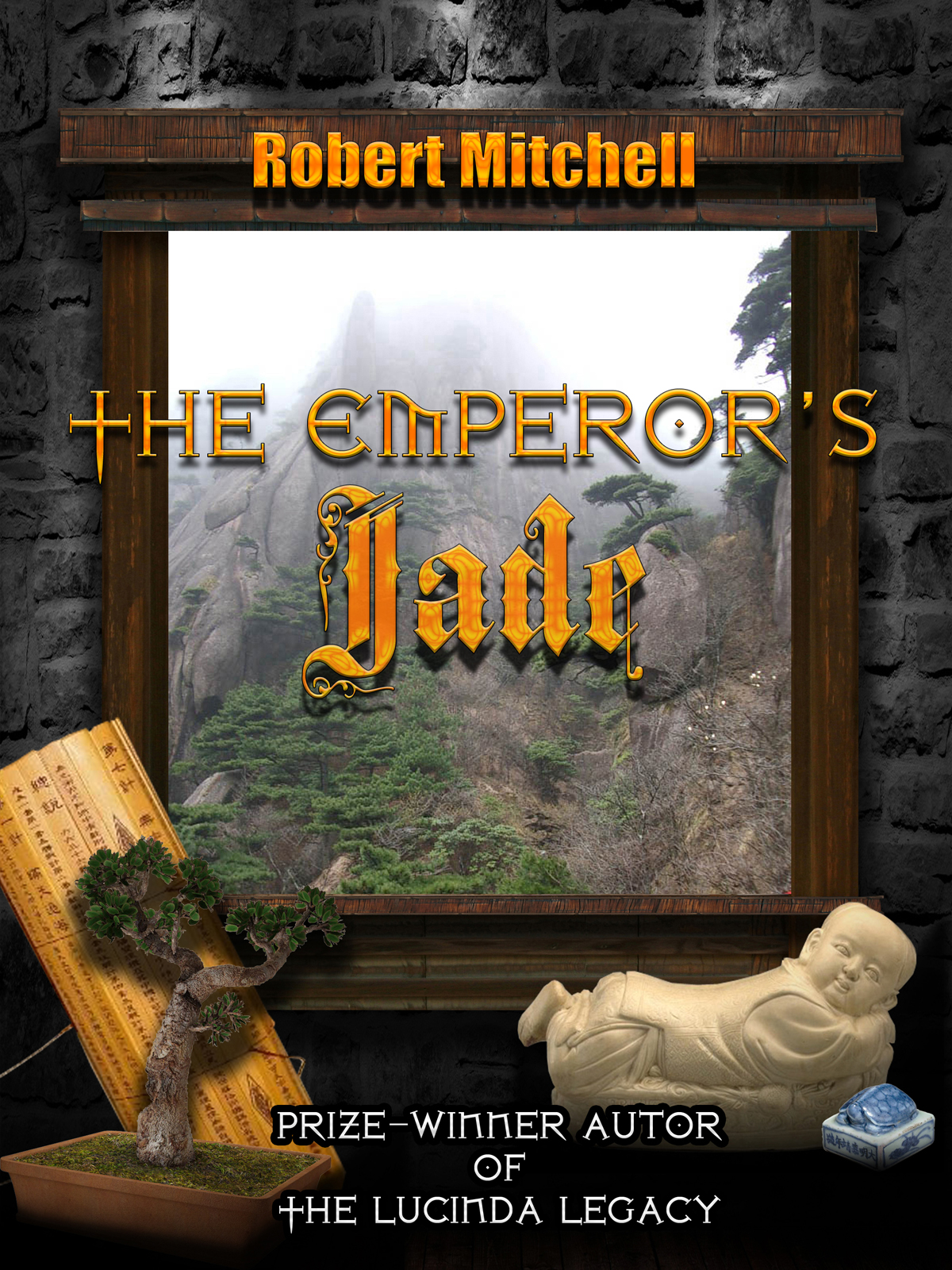 Book Cover Design by MITUCA ANDREI - Entry No. 53 in the Book Cover Design Contest Book Cover Design for The Emperor's Jade.
