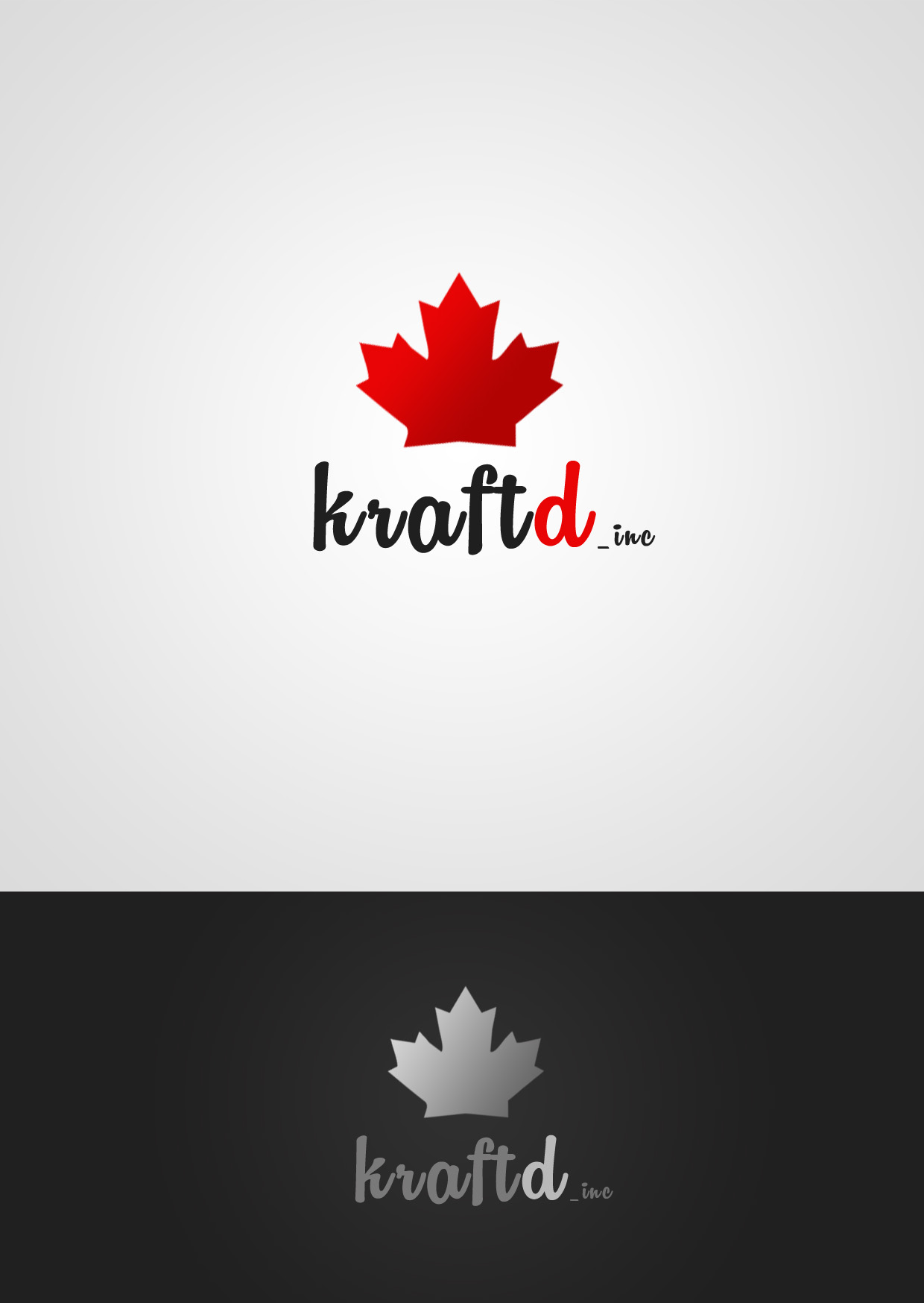 Logo Design by Private User - Entry No. 506 in the Logo Design Contest Unique Logo Design Wanted for Kraft D Inc.
