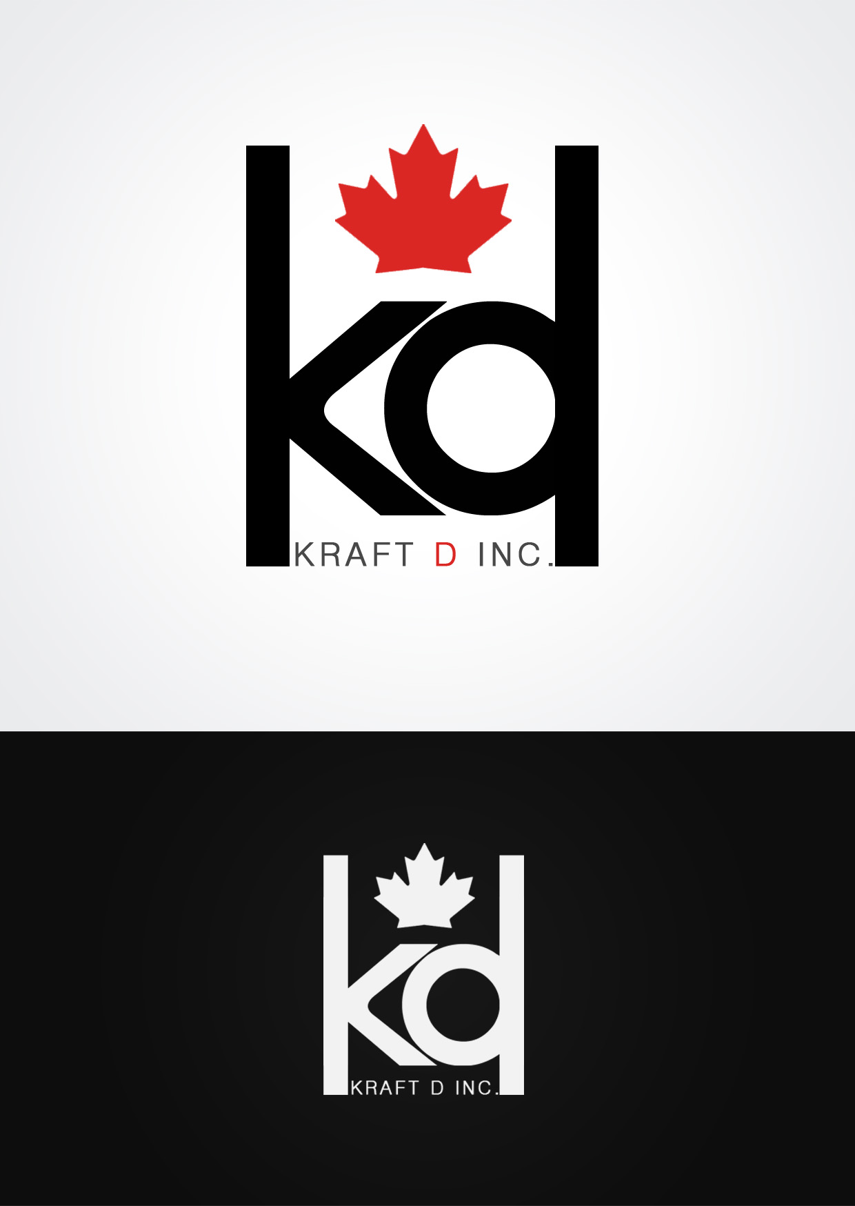Logo Design by Private User - Entry No. 507 in the Logo Design Contest Unique Logo Design Wanted for Kraft D Inc.
