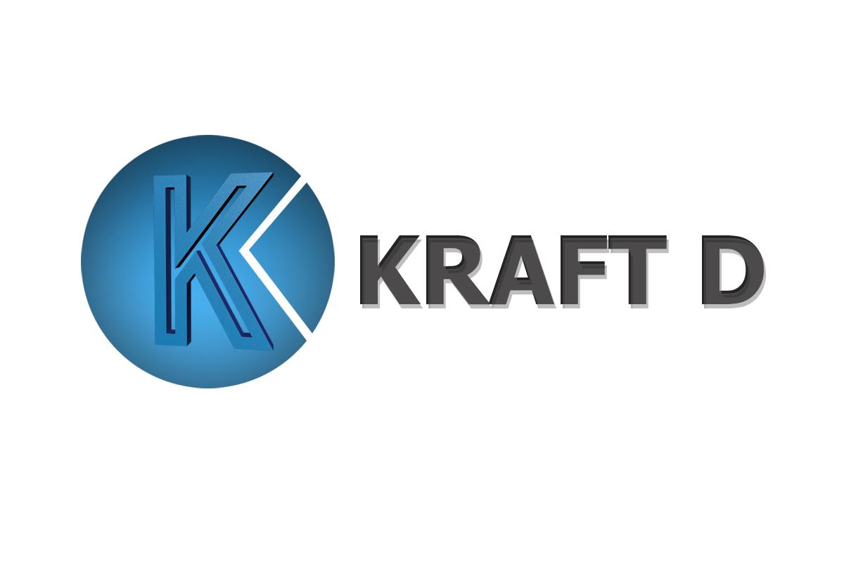 Logo Design by Srikant Budakoti - Entry No. 509 in the Logo Design Contest Unique Logo Design Wanted for Kraft D Inc.