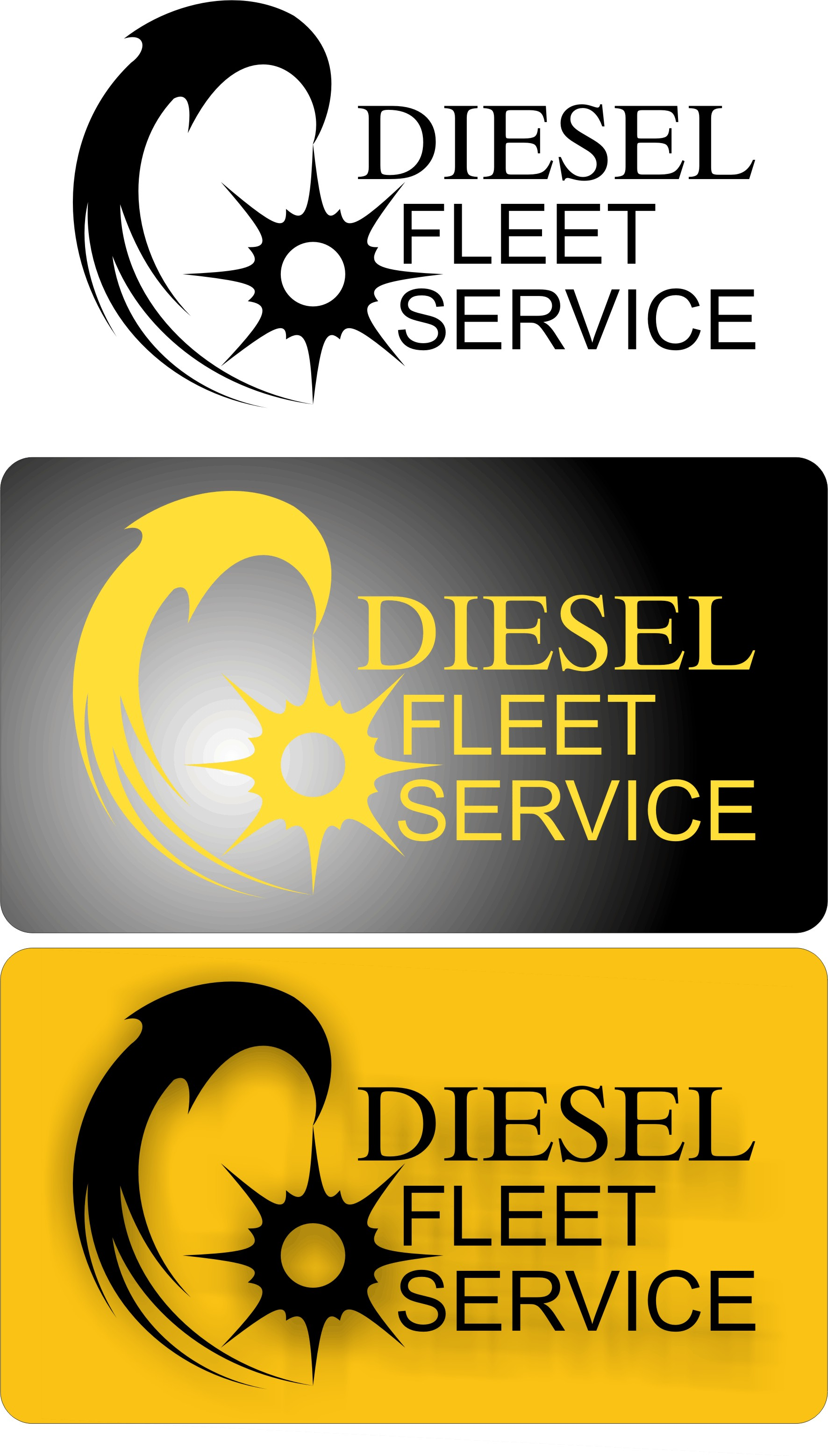 Logo Design by Korsunov Oleg - Entry No. 7 in the Logo Design Contest Artistic Logo Design for Diesel Fleet Service, LLC.