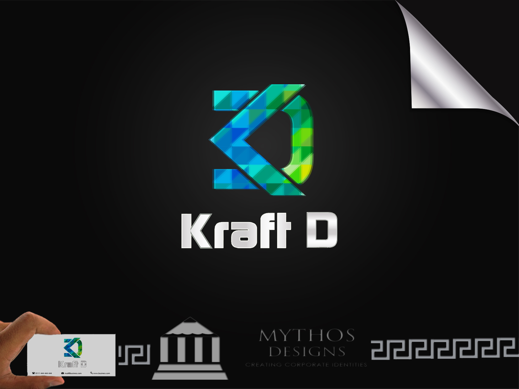 Logo Design by Mythos Designs - Entry No. 519 in the Logo Design Contest Unique Logo Design Wanted for Kraft D Inc.