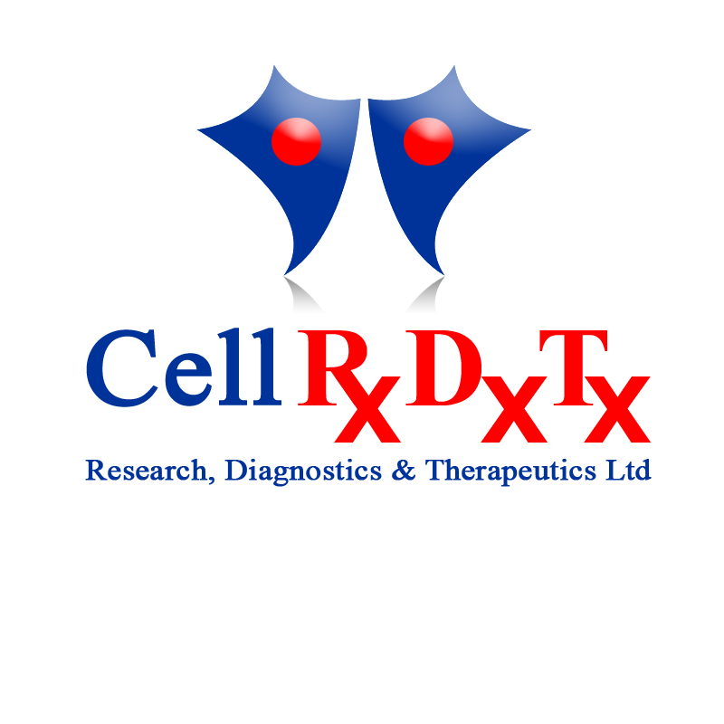 Logo Design by zams - Entry No. 172 in the Logo Design Contest Cell Research, Diagnostics & Therapeutics Ltd (RxDxTx).
