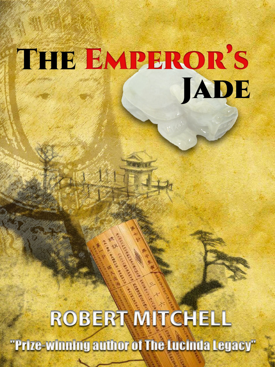 Book Cover Design by Thanasis Athanasopoulos - Entry No. 59 in the Book Cover Design Contest Book Cover Design for The Emperor's Jade.