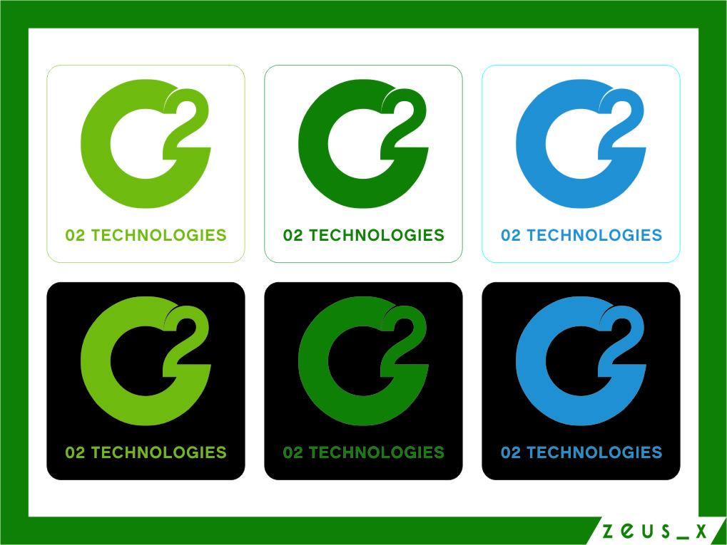 Logo Design by RasYa Muhammad Athaya - Entry No. 120 in the Logo Design Contest Artistic Logo Design for O2.