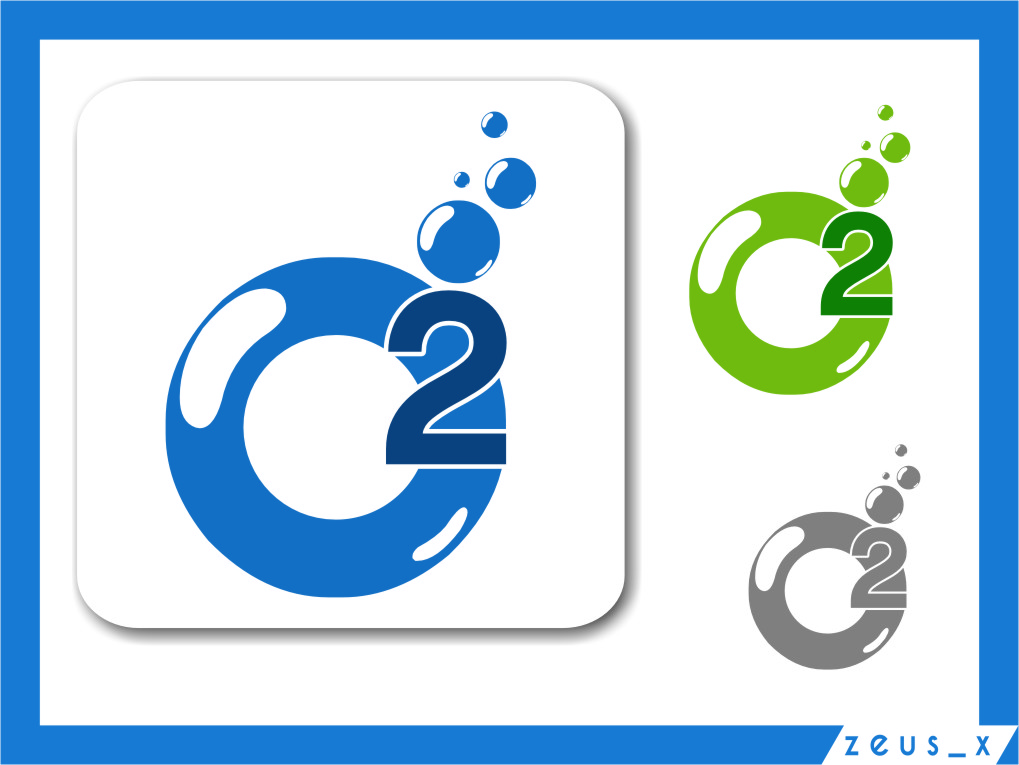 Logo Design by RasYa Muhammad Athaya - Entry No. 125 in the Logo Design Contest Artistic Logo Design for O2.