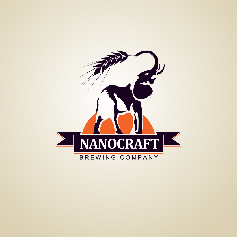 Logo Design by Jorge Sardon - Entry No. 55 in the Logo Design Contest Unique Logo Design Wanted for NanoCraft Brewing Company.