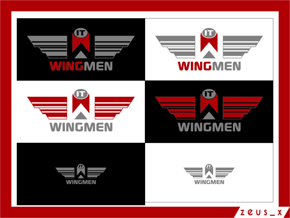 Logo Design by RasYa Muhammad Athaya - Entry No. 81 in the Logo Design Contest New Logo Design for IT Wingmen.