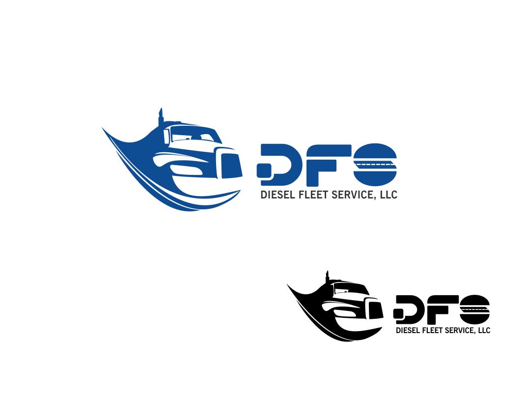 Logo Design by Chris Frederickson - Entry No. 8 in the Logo Design Contest Artistic Logo Design for Diesel Fleet Service, LLC.