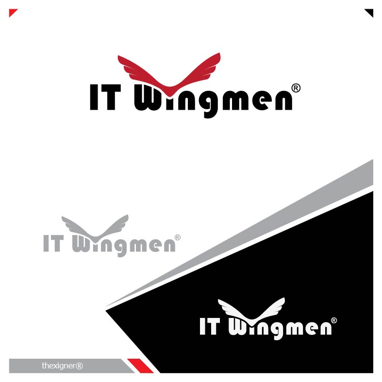 Logo Design by lagalag - Entry No. 82 in the Logo Design Contest New Logo Design for IT Wingmen.