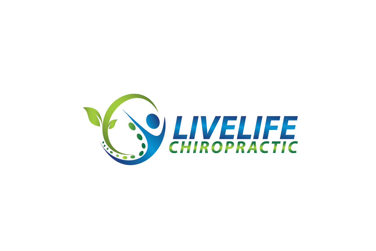 Logo Design by Private User - Entry No. 40 in the Logo Design Contest Captivating Logo Design for LiveLife Chiropractic.