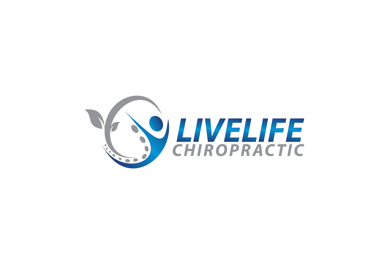 Logo Design by Private User - Entry No. 41 in the Logo Design Contest Captivating Logo Design for LiveLife Chiropractic.