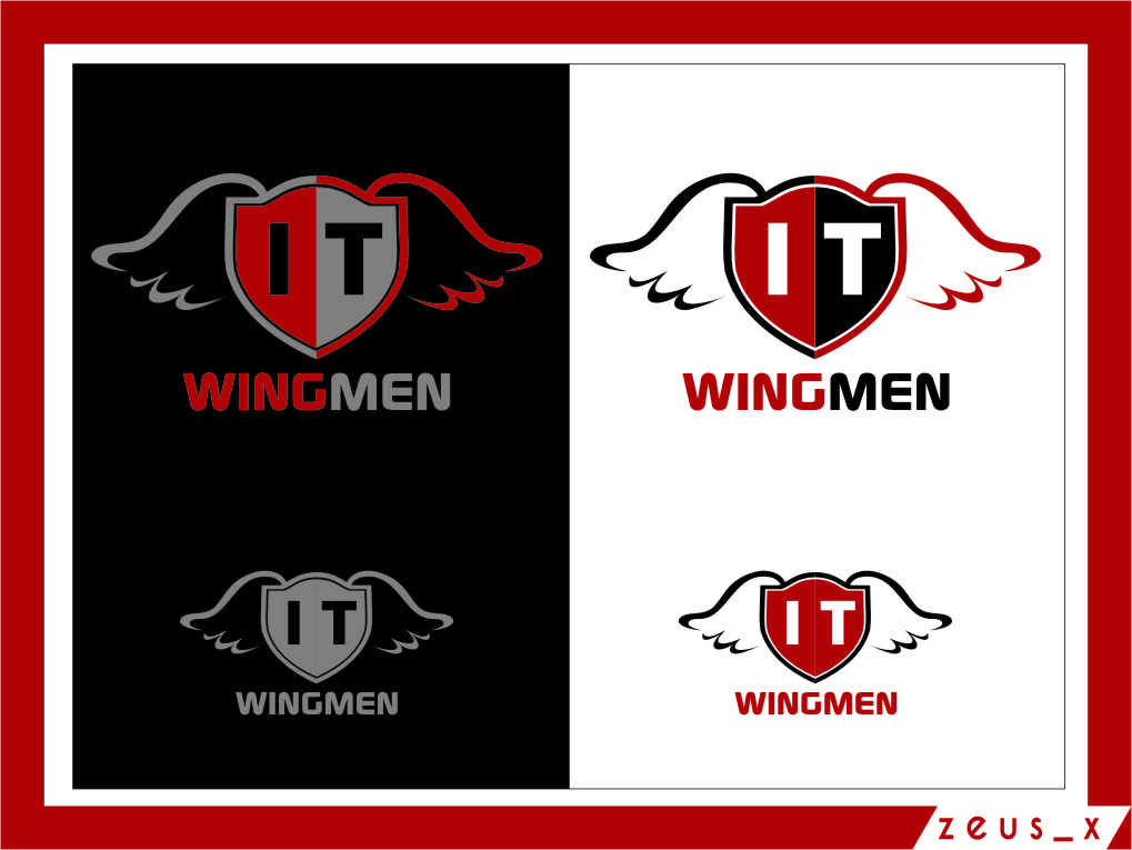 Logo Design by RasYa Muhammad Athaya - Entry No. 84 in the Logo Design Contest New Logo Design for IT Wingmen.