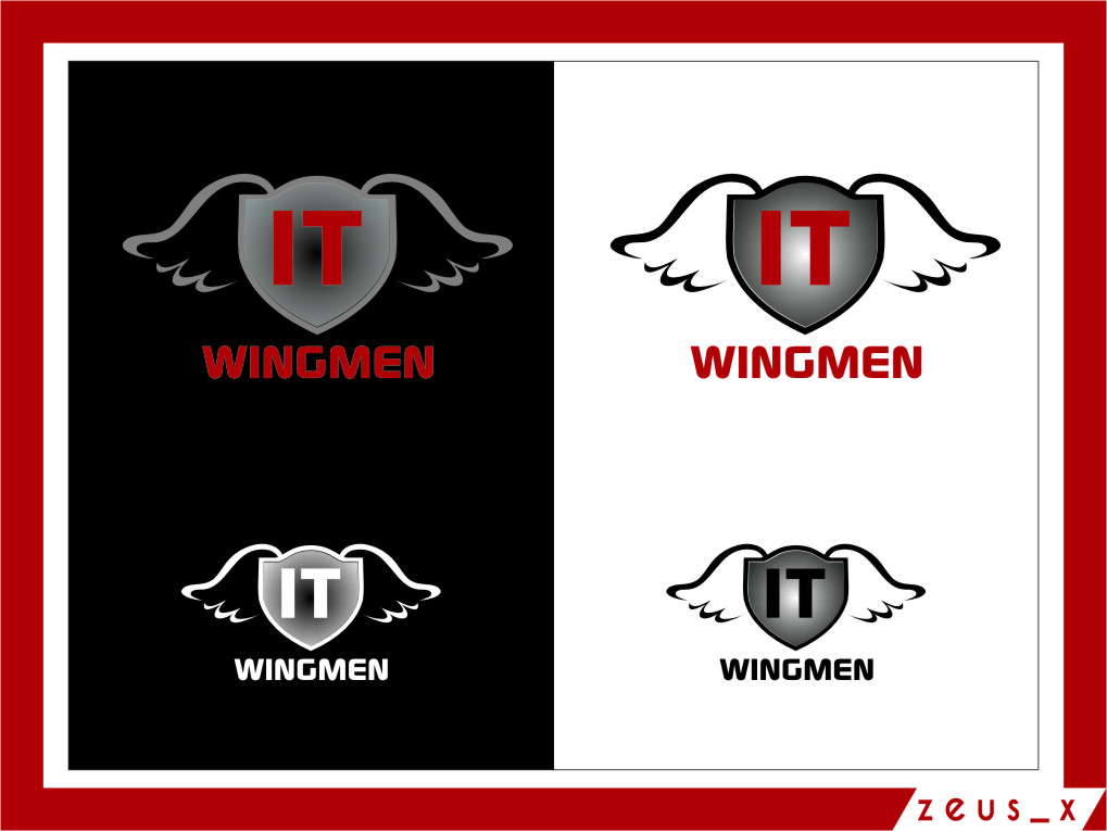 Logo Design by Ngepet_art - Entry No. 85 in the Logo Design Contest New Logo Design for IT Wingmen.