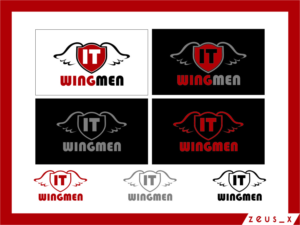 Logo Design by RasYa Muhammad Athaya - Entry No. 86 in the Logo Design Contest New Logo Design for IT Wingmen.
