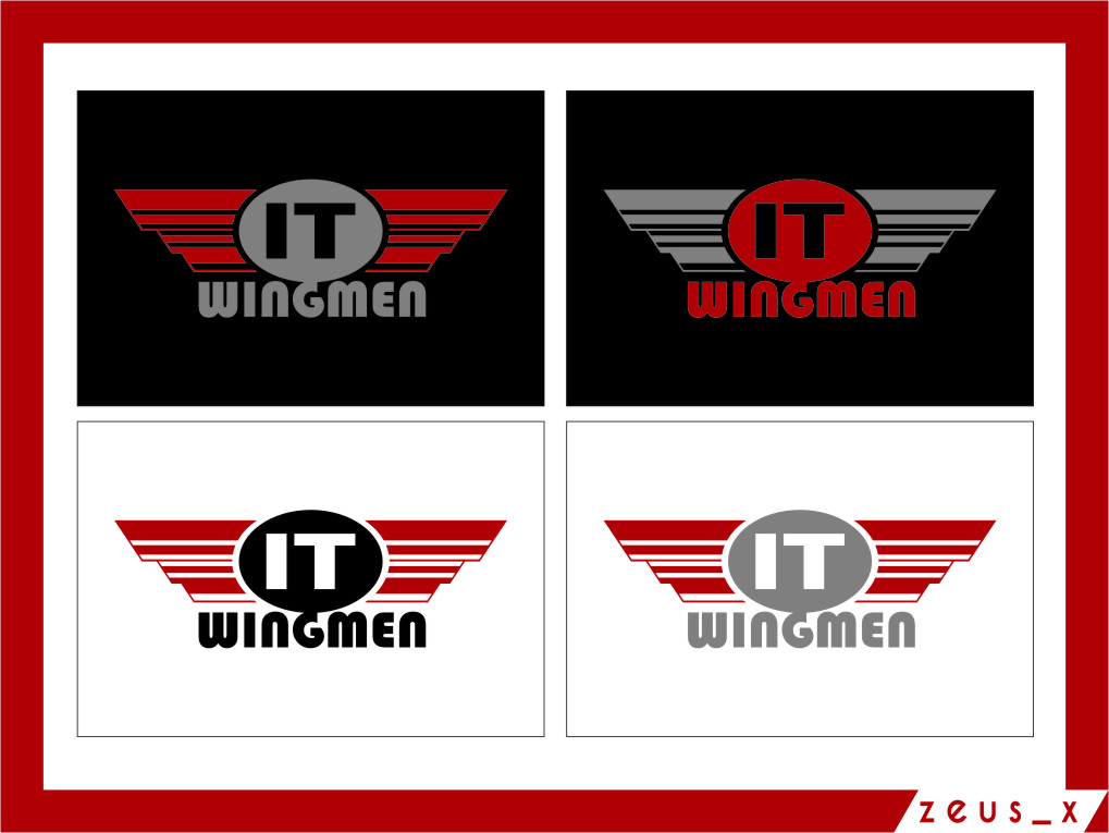 Logo Design by Ngepet_art - Entry No. 87 in the Logo Design Contest New Logo Design for IT Wingmen.