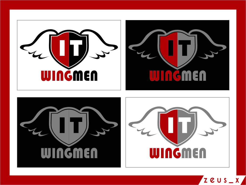 Logo Design by Ngepet_art - Entry No. 88 in the Logo Design Contest New Logo Design for IT Wingmen.